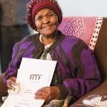Maria Mothupi (99 l.) w końcu otrzymała tytuł własności do nieruchomości, w której mieszka od 1982 r.